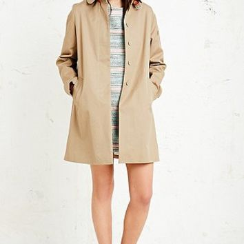 Sessun Gloria Overcoat in Beige - Urban Outfitters