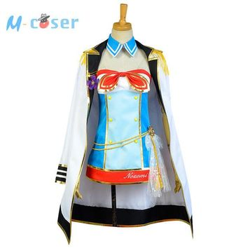 DCCKHY9 LoveLive Sailor Costume Love Live Tojo Nozomi Navy Uniform Girls Marine Anime Halloween Cosplay Costumes For Women