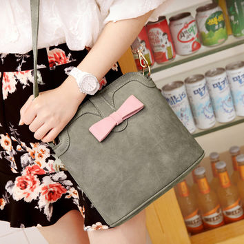 Matte Summer Korean Butterfly One Shoulder Bags [6582898375]