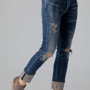 CITIZENS of HUMANITY Corey Slouchy Slim Jeans in Bourbon