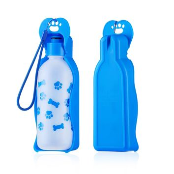 ANPETBEST Travel Bottle 325ML /11oz Dog Water Dispenser for Small Pets