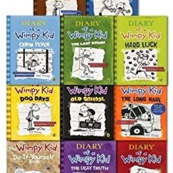 Diary of a Wimpy Kid Collection 11 Books Set Pack (1-11)