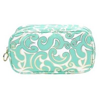 Contenets Summer Getaway Double Zip Clutch