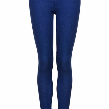 MOTO Pansy Blue Leigh Jeans