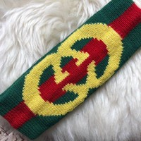 GUCCI Web wool headband with Interlocking G
