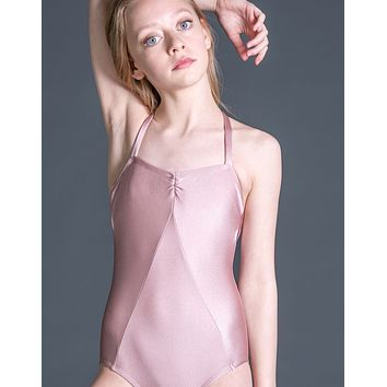 Child Symmetry Princess Seam Leotard with Front and Back Pinch 2193C by Suffolk Dance