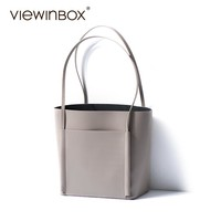 Viewinbox 2017 New Stylish High Quality Ladies Cowhide Leather Big Tote Handbag Designer Office Bags For Women Top-Handle Bags