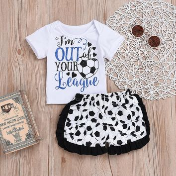 I'm Out of Your League 2PC Soccer Outfit