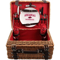 Arkansas Razorbacks Champion Picnic Basket Set - Cardinal - http://www.shareasale.com/m-pr.cfm?merchantID=7124&userID=1042934&productID=555873550 / Arkansas Razorbacks