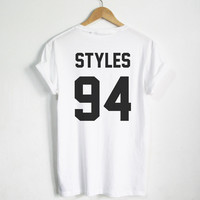 Plus size  Women/Men Harry Styles shirt STYLES 94 Hipster tshirt tumblr Unisex  shirts Clothing