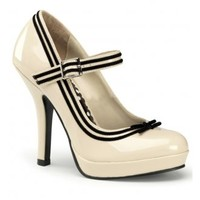 PIN UP COUTURE SECRET-15 TRIMMED SHOE
