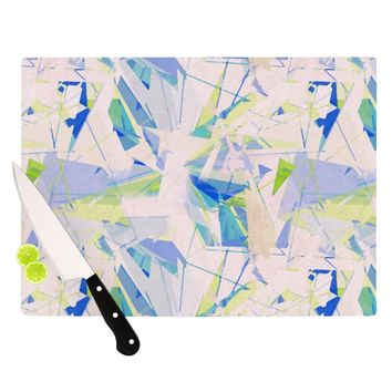 "Alison Coxon ""Shatter Blue"" Cutting Board"