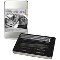 Royal & Langnickel Small Tin Charcoal Drawing Art Set