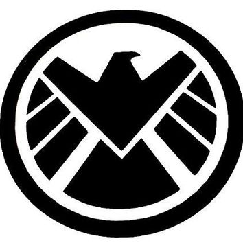 Avengers Marvel Agent Logo Vinyl Car/Laptop/Window/Wall Decal