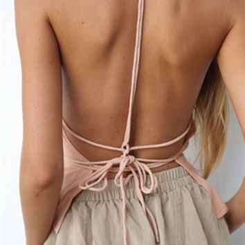 Ila Backless Cami - SABO SKIRT