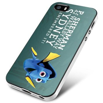dory finfing nemo quote i remember it iPhone 5 | 5S | 5SE Case Planetscase.com
