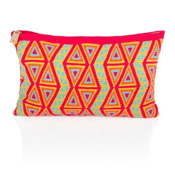 Wayuu Clutch - Talata - Orange