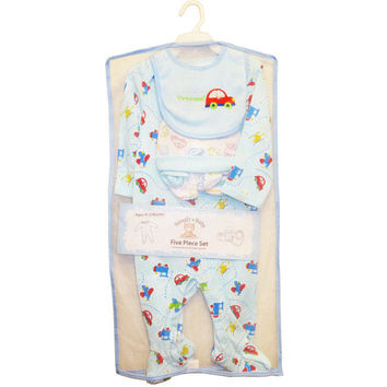 Snugly Baby Boys And Girls 5 Piece  Gifts Set