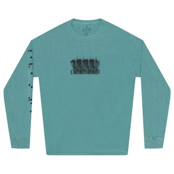 Dertbag Intelligence Longsleeve T-Shirt (Teal)