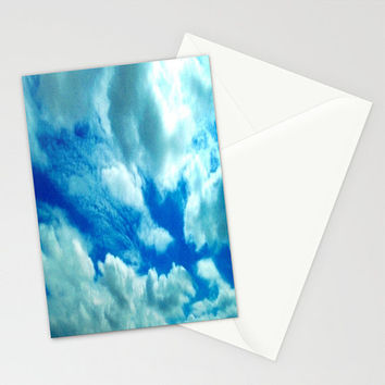 Blank Note Card // Fine Art Photography // Blank Greeting Card // Photo Note Card // Blank Note Cards // Clouds Sky // Made to Order - #23