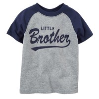Carter's ''Little Brother'' Raglan Tee - Toddler Boy
