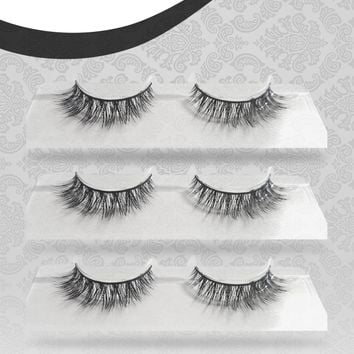 One Pair of Empyrean Wispies 100% Siberian Mink Eyelashes
