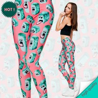 Online Shop 2015 women CREATURES,Ice Cube 3digital printing tights fashion sexy leggings high quality&elastic leggings free shipping|Aliexpress Mobile