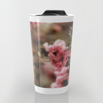 Filler Flowers Travel Mug by DuckyB (Brandi)