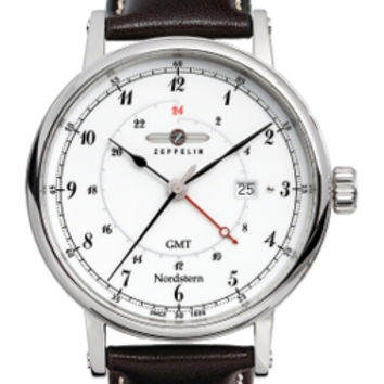 Graf Zeppelin Nordstern GMT Watch 7546-1