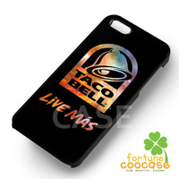 Taco Bell Logo - zzFzz for  iPhone 6S case, iPhone 5s case, iPhone 6 case, iPhone 4S, Samsung S6 Edge