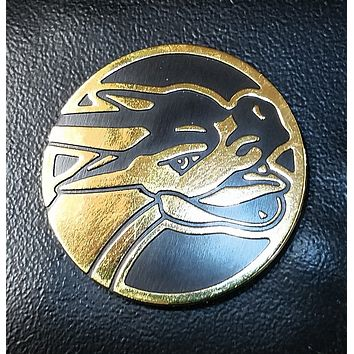 SHINY GOLD MEGA CHARIZARD COIN - RARE Pokemon Collectors Item - XY Flashfire