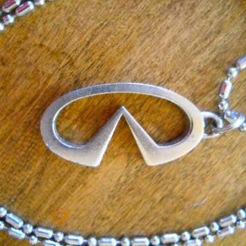 INFINITI Symbol Key Chain or Necklace
