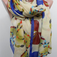 MOTHERS DAY GIFT Soft Cotton Scarf Cowl Scarf Pareo Summer Scarf Multicolor Scarf Sarong Women Fashion Accessories Christmas Gifts For Her
