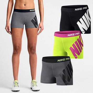 ONETOW Nike Pro Women Workout Gear Shorts