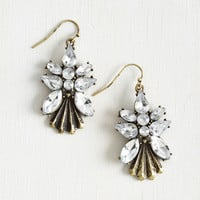 Vintage Inspired Graceful Showcase Earrings by ModCloth