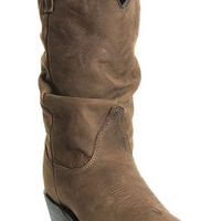 98a1bda656f6 Dingo Women s Marlee Golden Condor Slouch Cowgirl Boots