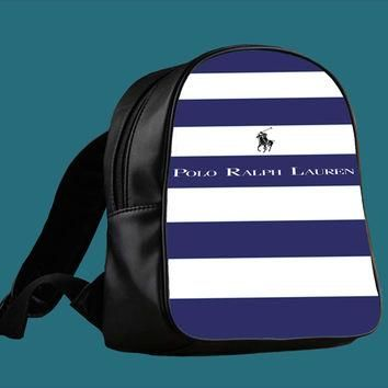 Polo Ralph Lauren Stripes Design for Backpack / Custom Bag / School Bag / Children Bag