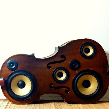 Cello Speaker Box