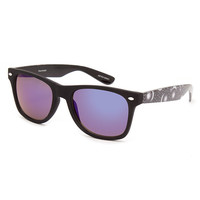 Blue Crown Cosmic Revo Classic Sunglasses Black One Size For Men 26192210001