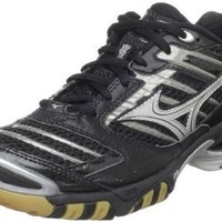 Amazon.com: Mizuno Women's Wave Lightning 7 Volleyball Shoe,Black/Silver,6 M US: Shoes