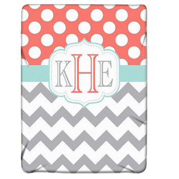 Custom Blanket Personalized Soft Baby Blanket Nursery Fleece Blanket MONOGRAM Nursery Decor 50x60 60x80 Made Usa Choose Colors Shower Gift