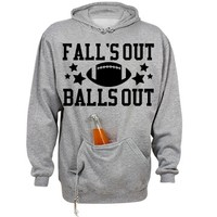 Fall's Out Balls Out Hood: Mom Means Business
