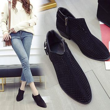 Women's Pointed Toe Booties