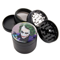 "Batman Joker - 2.25"" Premium Black Herb Grinder - Custom Designed"