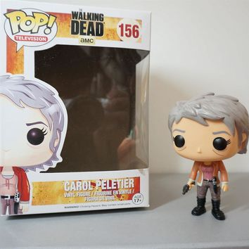 Funko Pop the Walking Dead PVC Action figure Carol Collectible Model Toys Great quality Christmas Gift