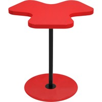 Clover Side Table, Red