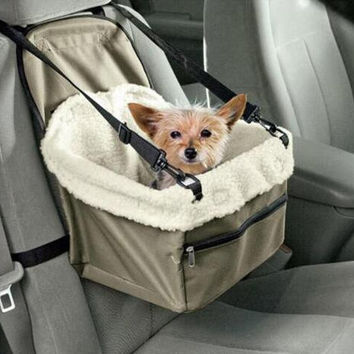 Car Seat Pet Safety Travel Safe Pet Lookout Dog Cat Booster Seat Dog Cat Carrier Gift