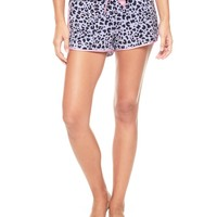 Modal Monarch Leopard Short by Juicy Couture