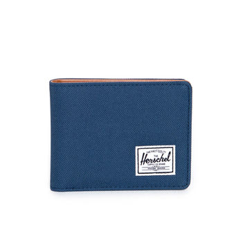Hank Navy and Tan Wallet by Herschel Supply Co.