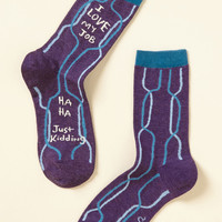 Take It Work for Word Socks | Mod Retro Vintage Socks | ModCloth.com
